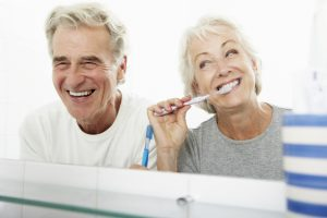 Visiting your dentist in Bonita in Springs can help maintain senior's oral health.